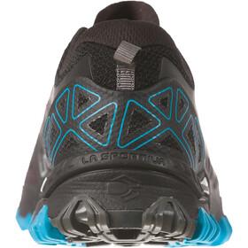 La Sportiva Bushido II scarpe da corsa Uomo nero turchese su Addnature 365b770dac0